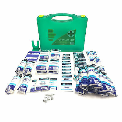 Qualicare Hse Compliant Premier 1-50 Person Large Work Essential First Aid Kit