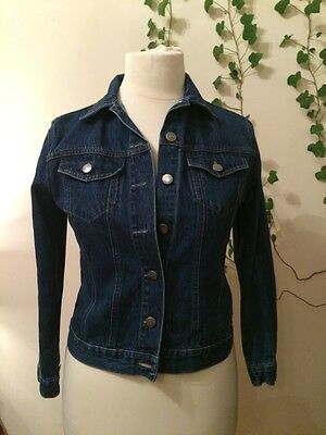TRADER Blue denim  jacket with two pockets size 11-12 years, height 152 cm