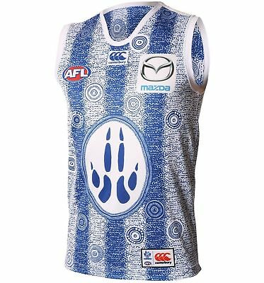 North Melbourne Kangaroos AFL Indigenous Guernsey 'Select Size' S-3XL BNWT5