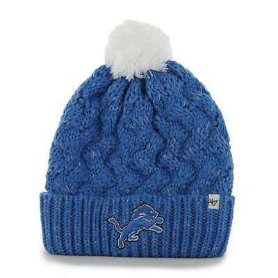 innovative design 106e5 664d3 where to buy detroit lions base runner clean up gray 47 brand adjustable hat  492d5 a28c6  purchase detroit lions 47 brand womens nfl fiona cuff knit  beanie ...