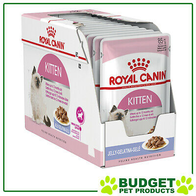 Royal Canin Pouches Instinctive in Jelly Kitten For Cats 85g x 12