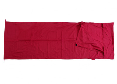 Basic Nature Cotton Lining Interior sleeping bag Ceiling form red