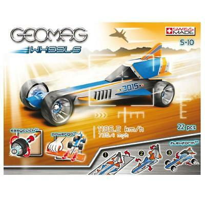 Wheels Race Speed Land Record 27x21 cm Racer Rennauto Geomag Magnetspielzeug