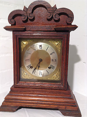 Antique ANSONIA Kitchen Mantel Shelf Clock - JPS