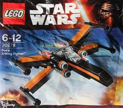 Lego Star Wars Poe's X-Wing Fighter 30278 Polybag BNIP