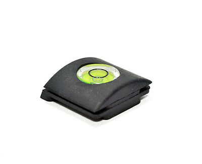 Flash Hot Shoe Cover Cap Bubble Spirit Level For Canon Nikon Olympus Camera