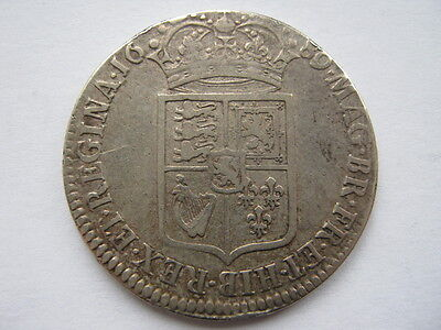 1689 William and Mary Half Crown, NVF. ESC 503.