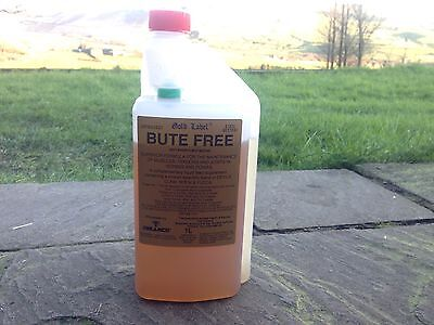 GOLD LABEL BUTE FREE LIQUID FOR HORSES AND PONIES 1Ltr