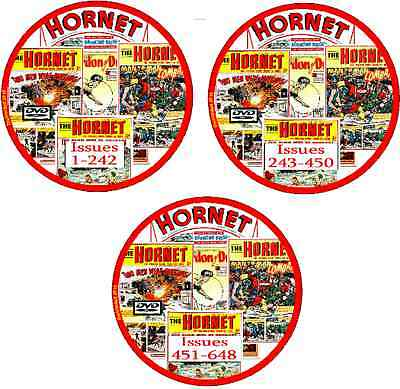 THE HORNET UK Boys 648 Comics 3 printed DVDs buy any 3 get 4th free see listing