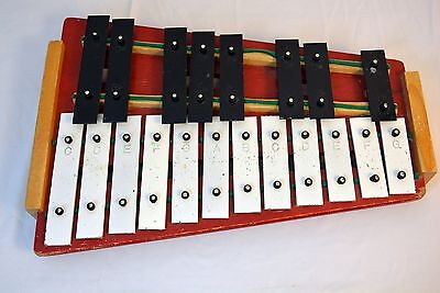 Vintage Student Xylophone Rhythm Band Inc Japan 20 Key Tone Educator Bells