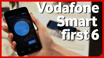 Vodafone Smart First 6 V695 VF695 695 Unlock Code Instant