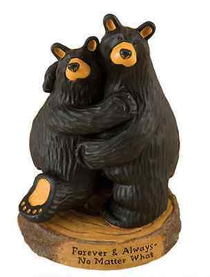 "Big Sky Carvers Bearfoots""Forever & Always"" Jeff Flemming Demdaco #30150199"