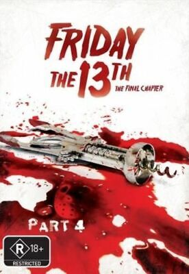 Friday the 13th - Part 4 - The Final Chapter DVD R4