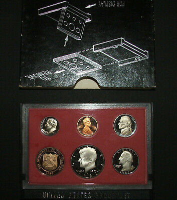 1982 US Proof set coins