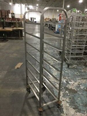 Lot Of 4: 2 Stainless And 2 Aluminum Grocery Racks Bakery Meat -Send Any Offer!