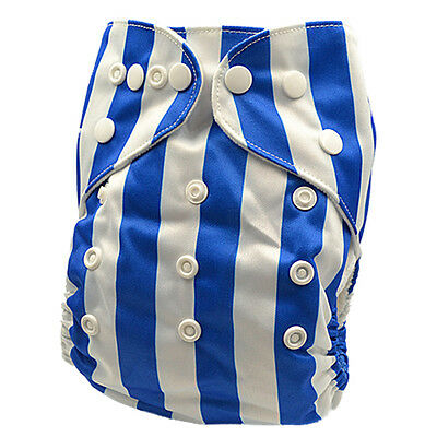 Pocket Nappy Mcn Baby Cloth Nappies & Inserts All Size Diapers Own Design (D9)