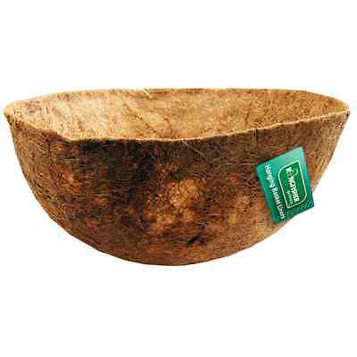 12in (30cm)/14in (36cm)/16in (40cm) Shaped Coco Hanging Basket Liner Value!