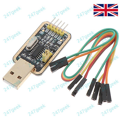 CH340 Gold USB TTL Serial Adapter for Router upgrade Arduino FTDI CP2102 PL2303