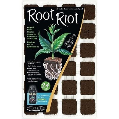Growth Technology - ROOT RIOT Vassoio 24 cubi