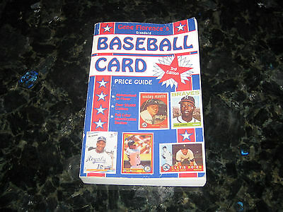 1991 Gene Florence's Standard Baseball Cards Price Guide-3rd Edition