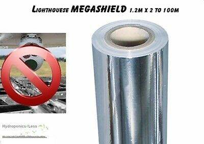 LIGHTHOUSE ADF Infrared Thermal Proof Grow Room Hydroponics Sheeting 2 to 100m