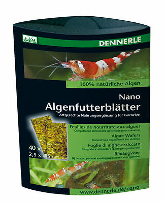 Dennerle Crusta Algae Wafers -  for Cherry Crystal Tiger Shrimp & Fish