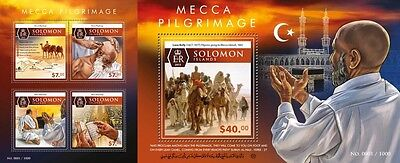 Z08 SLM15518ab SOLOMON ISLANDS 2015 Mecca Imperforated Set