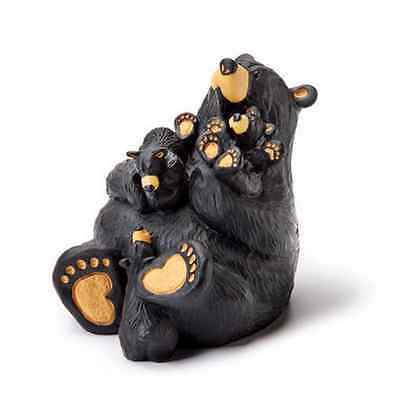 Big Sky Carvers  Bearfoots Home Again Figurine by Jeff Fleming