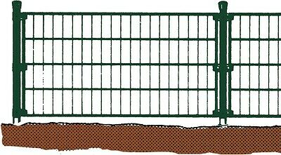 Single bar mat 2000x1500mm Fence-matt Gate Garden Fence Green New