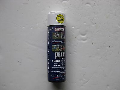 Cut Heal Deep Freeze TurboBody wash for Athletic Dogs  8.4 OZ