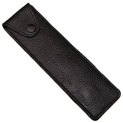 Parker Safety Razor Genuine Leather Protective/travel Case For Straight/shavette