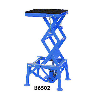 Motorcycle Lift Stand, Hydraulic Foot Lift, Motorcycle Work Stand @ DTM (B6502)