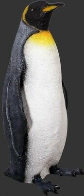 Penguin Statue King Penguin Life Size Statues Prop Display
