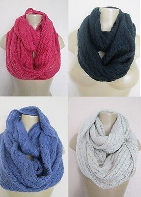 New Stock Added Job Lot Wholesale 100 X Snood Winter Scarf 4 Colours
