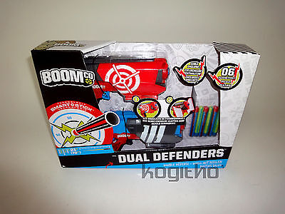 NEUOVP Mattel Dual Defenders BoomCo Action Darts Pfeile Spielwaffe BGY63