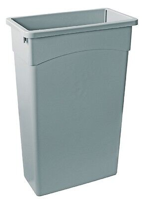 Slim Jim Bin 87 Litre Grey, Commercial Professional Kitchen, Wall Hugger, Refuse