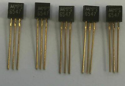 Mps6500-Mps6580 Series Silicon Pnp Transistors (Pack Of 5Pcs)