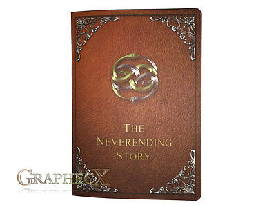 Never ending Storybook cosplay inspired personalized journal notebook