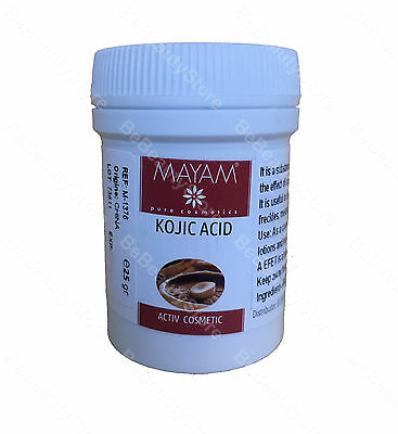 KOJIC ACID - Whitening, Lightening, Bleaching, Face Anti-aging, ANTI MELASMA 25g