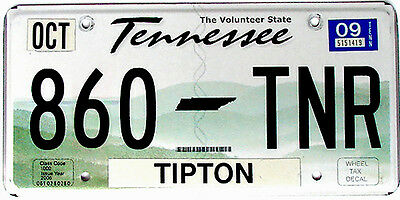 Tennessee VOLUNTEER STATE License Plate - APPALACHIAN HILLS NASHVILLE OPRY