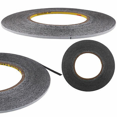 Black Strong Adhesive Double Sided Tape 50m Sticky