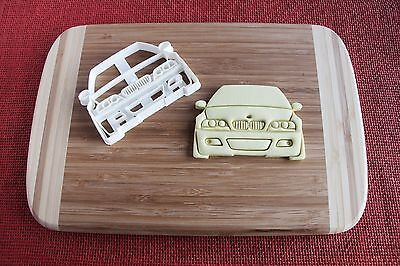Bmw E30 M3 Front View Cookie Cutter Biscuit Stamp Cake Topper