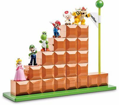 Official Nintendo Licensed amiibo End Level Modular Display Stand