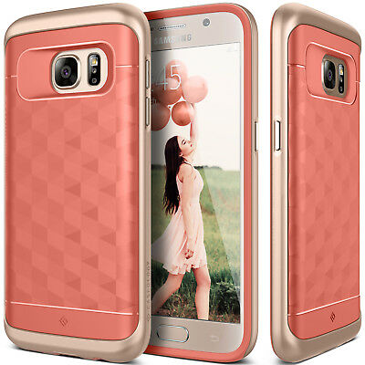 For Samsung Galaxy S7 Caseology® [PARALLAX] Shockproof TPU Bumper Case Cover