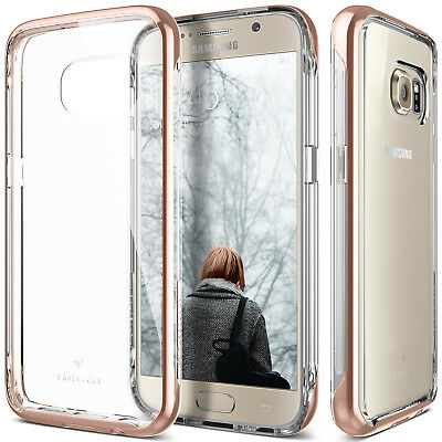 For Samsung Galaxy S7 Caseology® [SKYFALL] Shockproof Slim Clear Hard Case Cover