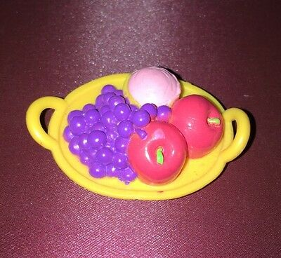 Dora The Explorer Fruit Plate Grapes Apples Food Accessory
