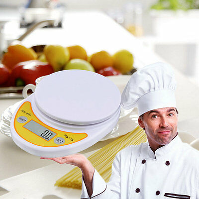 WH-B04 5kg/1g LCD Digital Electronic Kitchen Scale for Food Balance Weighing JK