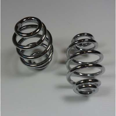 Royal Enfield Chrome Seat Springs Sold as a Pair (Short Length) 3""
