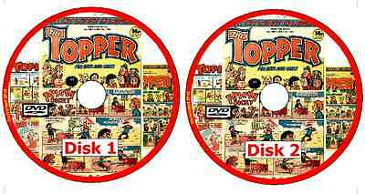 TOPPER 454 Comics 1953-1989 on 2 DVDs - buy any 3 get 4th free see listing