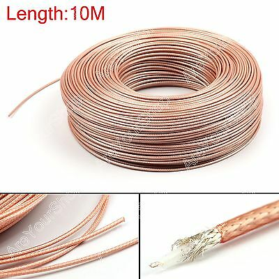 10m RG179 RF Coaxial Cable Connector 75ohm M17/94 RG-179 Coax Pigtail 32ft